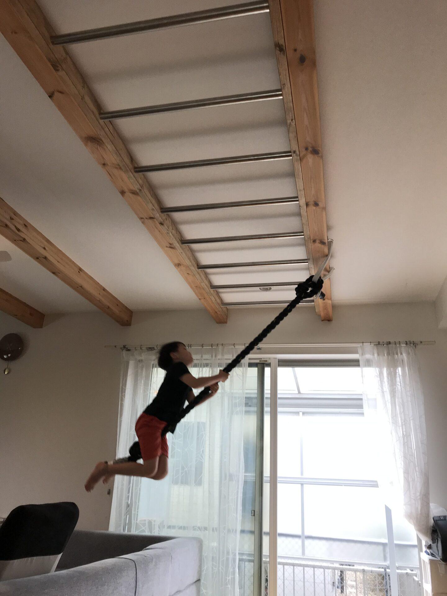 屋内 雲梯