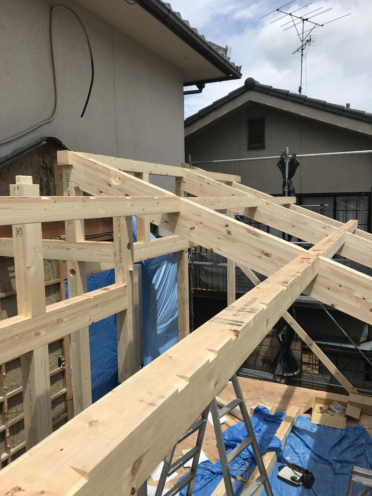 木造建方工事